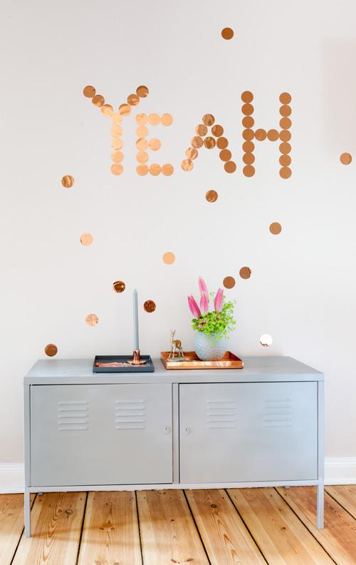 het woonschrift confetti om je huis op te vrolijken. Black Bedroom Furniture Sets. Home Design Ideas