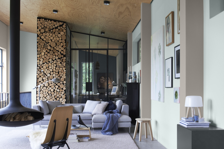Het woonschrift couleur locale vernieuwd - Kleur verf moderne woonkamer ...