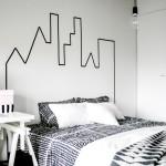 nog een idee om het hoofdeinde van je bed te accentueren via decoracion