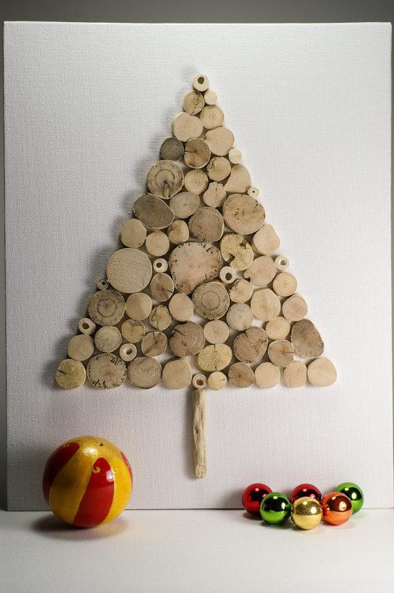 Zelf een kerstboom maken - Een houten boom maken ...