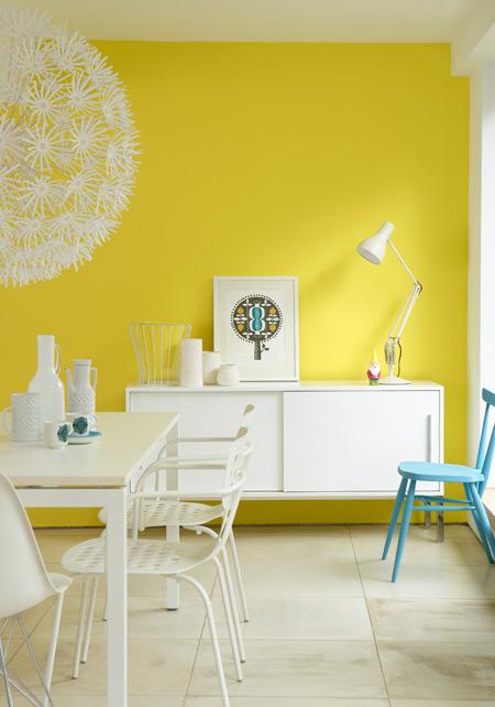 De psychologie van kleur in het interieur - Kleur trendy restaurant ...