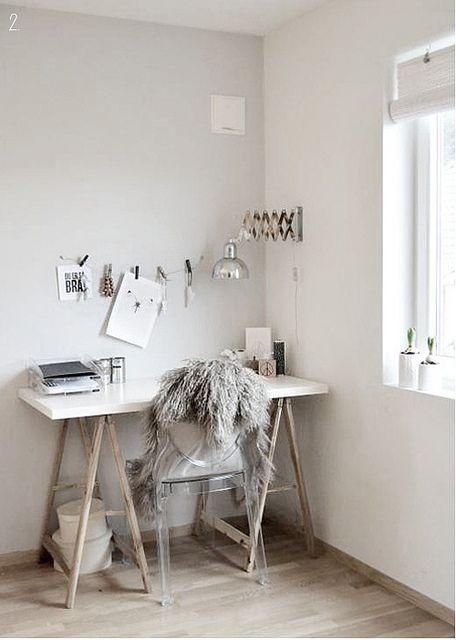 Het woonschrift idee n voor een thuiswerkplek - Idee deco voor professioneel kantoor ...