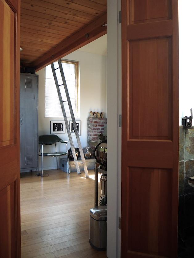 verbouwde garage - het Woonschrift