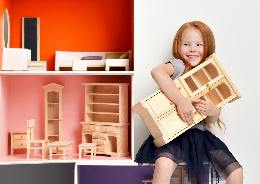 Diy zelf een simpel poppenhuis maken het woonschrift for Poppenhuis meisje