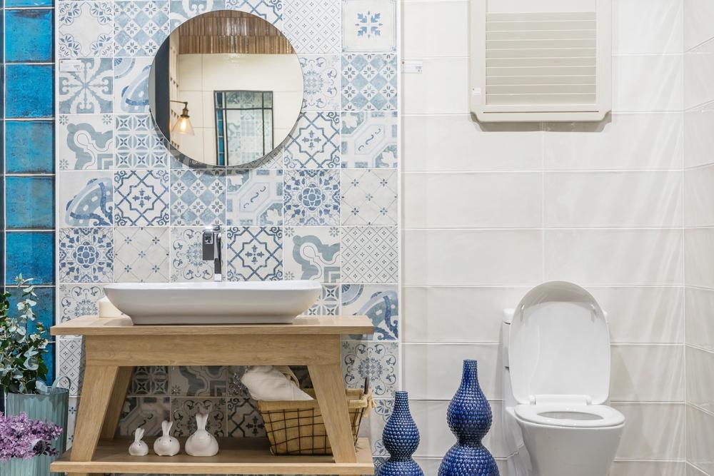 Portugese Tegel Badkamer : Geef je badkamer een upgrade met portugese tegels het woonschrift